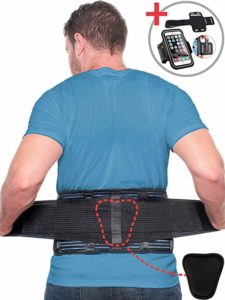 Beqo Back Brace for Lower Back Pain with Removable Lumbar Pad