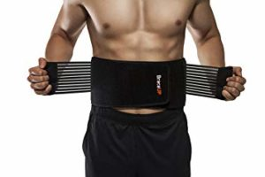 BraceUP Stabilizing Lumbar Lower Back Brace for Heavy lifting