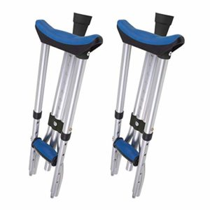 Carex Folding Crutches - Best budget crutch for knee injury