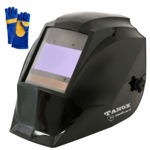 Digital Display auto Darkening Solar Powered Welding Helmet ADF