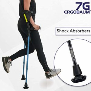 Ergobaum¨ Prime 7TH Generation overall best Forearm Crutches