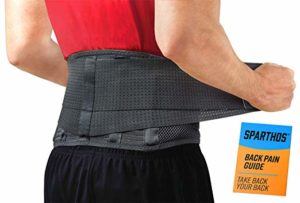Lumbar Support Belt back brace for heavy lifing