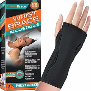 ComfyBrace Night Wrist Sleep Support Brace for carpal tunnel