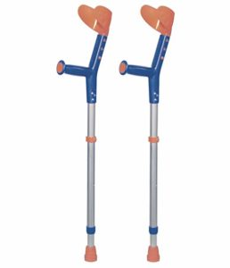 ORTONYX Forearm Crutches for non-weight bearing injuries