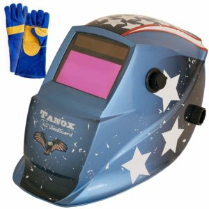 Tanox Auto Darkening Solar Powered Welding Helmet