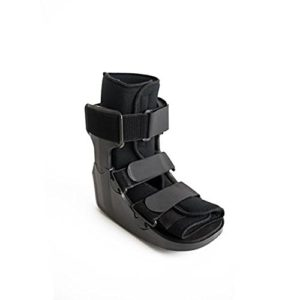 Ankle cast for sprained ankle