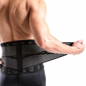 Vital Salveo-Adjustable Germanium and Bamboo Charcoal Lower Back Support