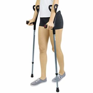 Vive Forearm best light weight forearm crutches