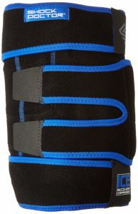 Shock doctor ice pack knee wrap brace