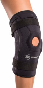 DonJoy Performance Bionic Knee Brace – Hinged, Adjustable Patella Support