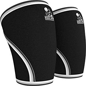 Nordic knee sleeve for crossfit and powerlifting