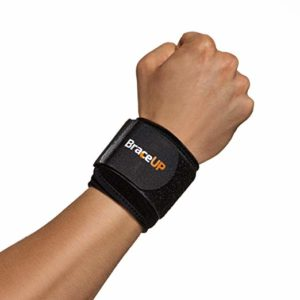BraceUP Wrist Compression Strap and Support
