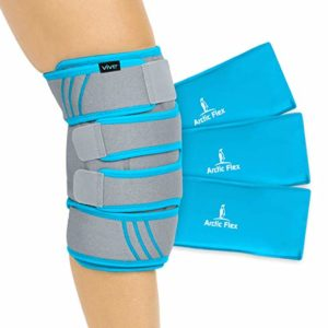 Hot or cold therapy brace for patellofemoral pain syndrome