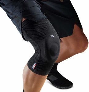 Overall Basketball Compression sleeve - Bauerfeind GenuTrain