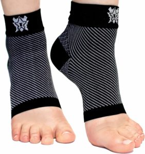 Bitly Plantar Fasciitis Socks for Women & Men- Compression Foot Sleeve