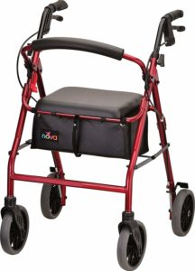 NOVA Zoom Rollator Walker