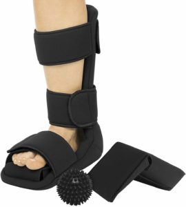 Vive Plantar Fasciitis Night Splint Plus Trigger Point Spike Ball
