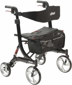 Drive Medical Heavy Duty Nitro Euro Style Walker Rollator