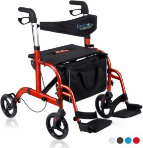 Health Line 2 in 1 Rollator-Transport Chair