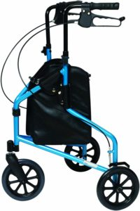 Lumex 3-Wheel Cruiser, Lightweight and Compact Folding Walker
