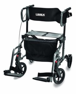 Lumex HybridLX Rollator & Transport Chair