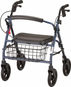 NOVA Mini Mack Bariatric Rollator Walker