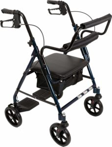 ProBasics Transport Rollator Walker by Roscoe Medical