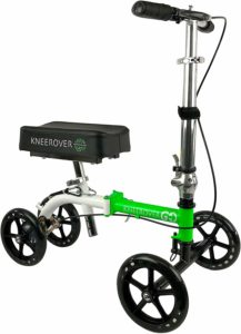 NEW KneeRover GO Knee Walker - Overall Best for Travel