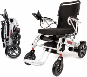 Porto Mobility Ranger X6 Portable Lightweight Premium Power Wheelchair