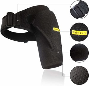 Best shoulder support brace for rotator cuff injury