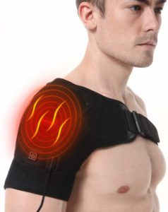 Heated Shoulder Wrap Brace by Soulern