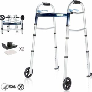 OasisSpace Compact Folding Walker, Tall