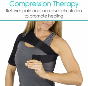 Vive Shoulder Brace - Rotator Cuff Compression Support