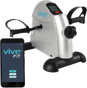 Vive Pedal Exerciser - Stationary Exercise Leg Peddler