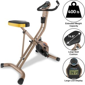 Exerpeutic Gold Folding Bike