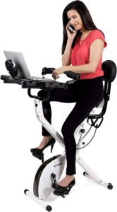 FitDesk 3.0 Standing Adjustable Desk Bike for Exercising