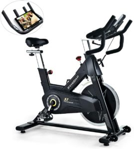 PYHIGH Indoor Cycling Bike-48lbs Flywheel Belt Drive Stationary Bicycle Exercise Bikes