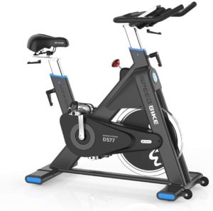pooboo Pro Belt Drive Exercise Bike Stationary
