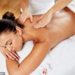 Woman receiving massage: Massage Benefit to Physical Fitness