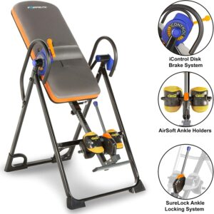 Exerpeutic 975SL All Inclusive Heavy Duty Capacity Inversion Table