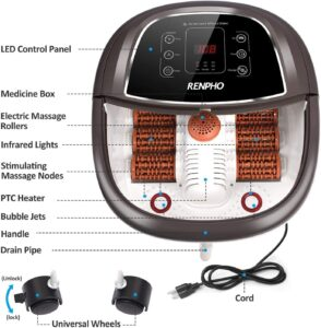 RENPHO Foot Spa Bath Massager