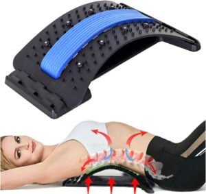 PGG-bro Back Stretcher, Lumbar Back Pain Relief Device