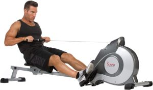 Sunny SF-RW5515 Health & Fitness Magnetic Rowing Machine